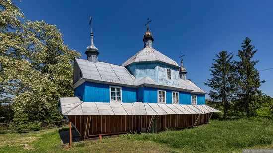 Church of St. Nicholas in Lazarivka, Ternopil region, Ukraine, photo 14