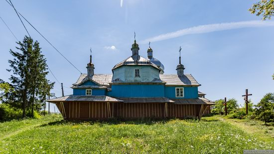 Church of St. Nicholas in Lazarivka, Ternopil region, Ukraine, photo 2