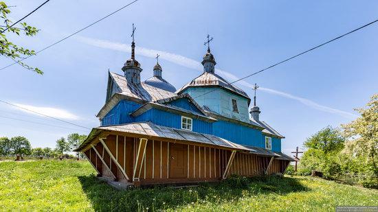 Church of St. Nicholas in Lazarivka, Ternopil region, Ukraine, photo 3