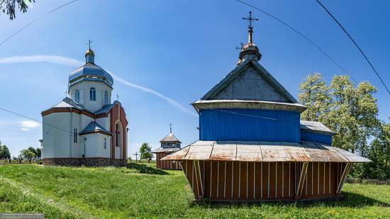 Church of St. Nicholas in Lazarivka, Ternopil region, Ukraine, photo 4