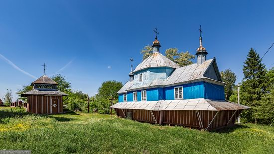 Church of St. Nicholas in Lazarivka, Ternopil region, Ukraine, photo 5