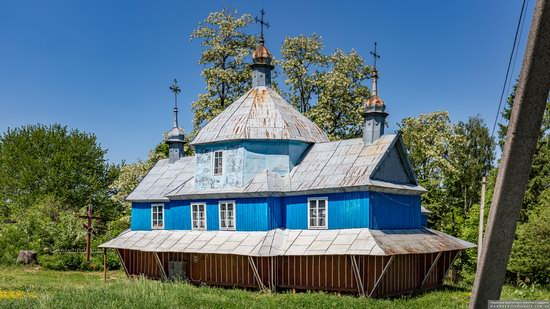 Church of St. Nicholas in Lazarivka, Ternopil region, Ukraine, photo 6