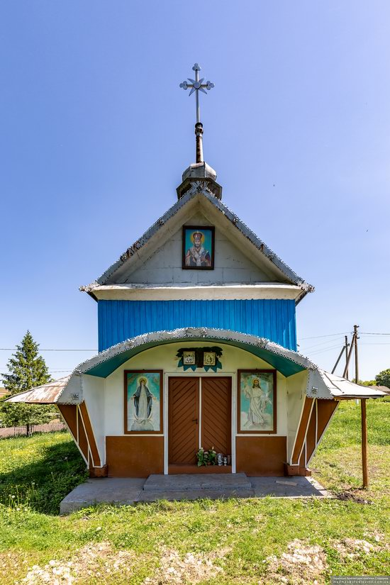 Church of St. Nicholas in Lazarivka, Ternopil region, Ukraine, photo 8