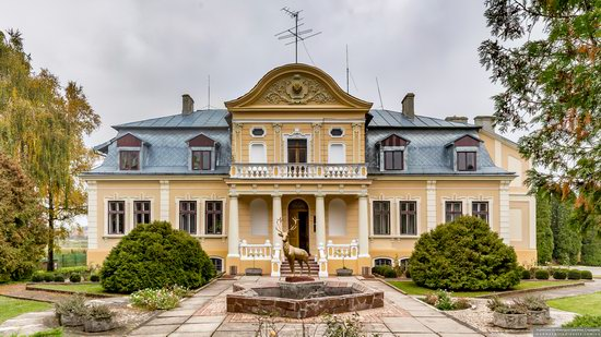 Palace of the Counts Tyszkiewicz in Brody, Ukraine, photo 1