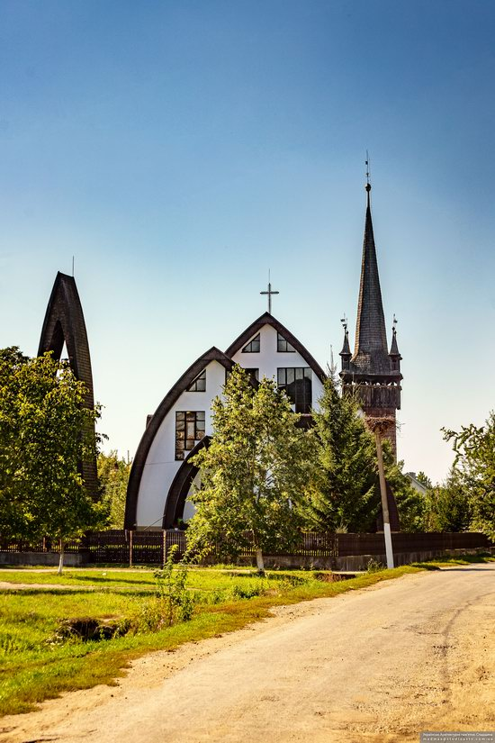Gothic Reformed Church in Chetfalva, Zakarpattia Oblast, Ukraine, photo 12
