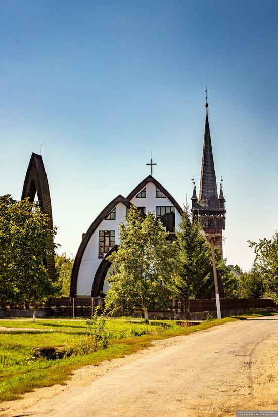 Gothic Reformed Church in Chetfalva, Zakarpattia Oblast, Ukraine, photo 12