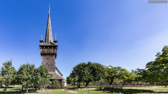 Gothic Reformed Church in Chetfalva, Zakarpattia Oblast, Ukraine, photo 3