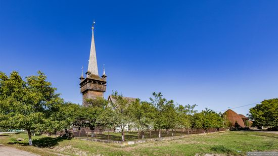 Gothic Reformed Church in Chetfalva, Zakarpattia Oblast, Ukraine, photo 5