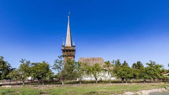 Gothic Reformed Church in Chetfalva, Zakarpattia Oblast, Ukraine, photo 6