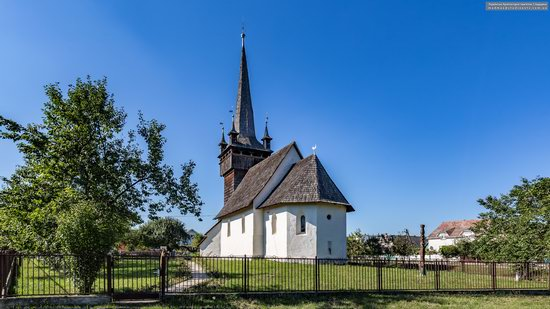 Gothic Reformed Church in Chetfalva, Zakarpattia Oblast, Ukraine, photo 7