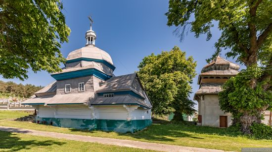 Church of the Resurrection of Christ in Derenivka, Ternopil Oblast, Ukraine, photo 1
