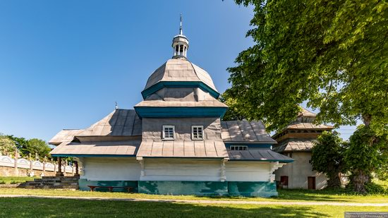 Church of the Resurrection of Christ in Derenivka, Ternopil Oblast, Ukraine, photo 2