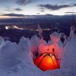 Winter on Mount Synyak