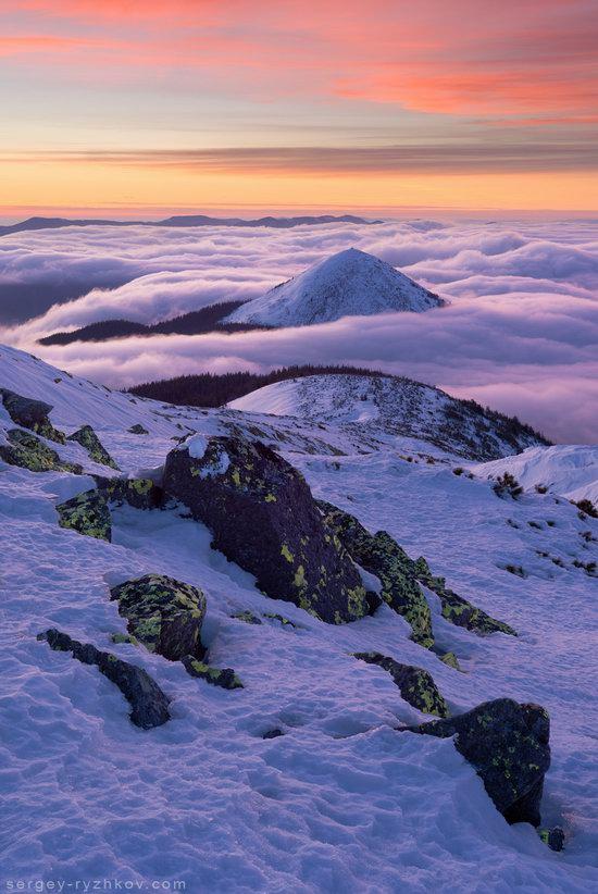 Winter on Mount Synyak, Ivano-Frankivsk Oblast, Ukraine, photo 10