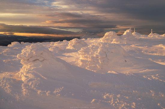 Winter on Mount Synyak, Ivano-Frankivsk Oblast, Ukraine, photo 2