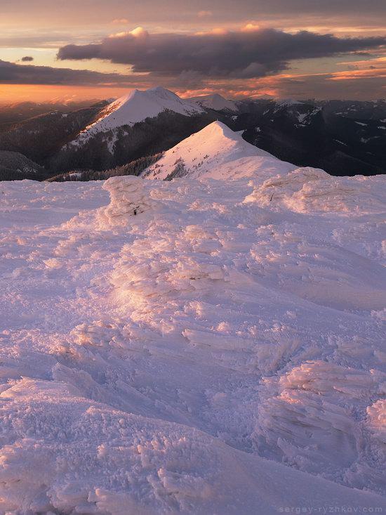 Winter on Mount Synyak, Ivano-Frankivsk Oblast, Ukraine, photo 3