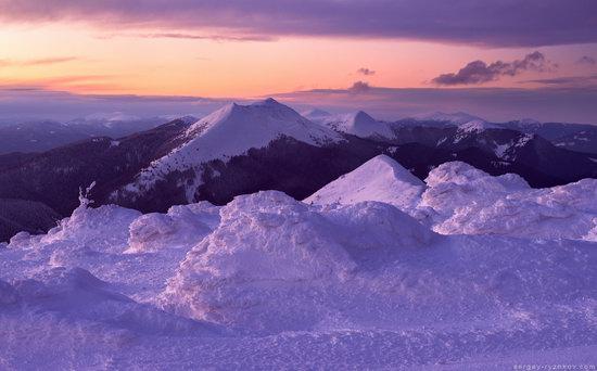 Winter on Mount Synyak, Ivano-Frankivsk Oblast, Ukraine, photo 4
