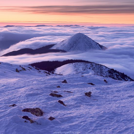 Winter on Mount Synyak, Ivano-Frankivsk Oblast, Ukraine, photo 9