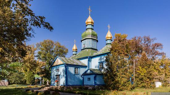 Church of Joseph the Betrothed in Zhytni Hory, Ukraine, photo 1