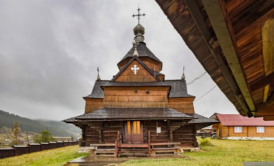 Church of the Nativity of the Blessed Virgin in Vorokhta, Ukraine, photo 5