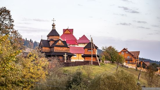Church of the Nativity of the Blessed Virgin in Vorokhta, Ukraine, photo 9