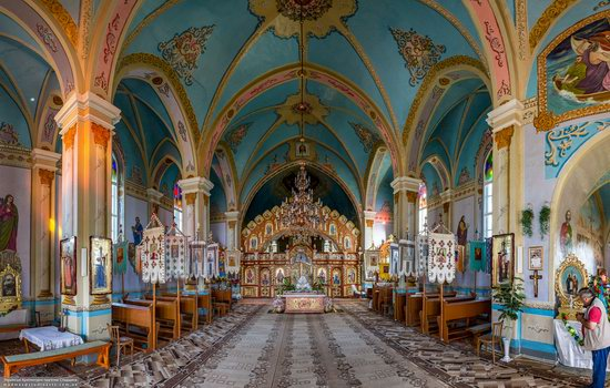 Neo-Gothic Orthodox Church in Pidhaichyky, Ukraine, photo 10