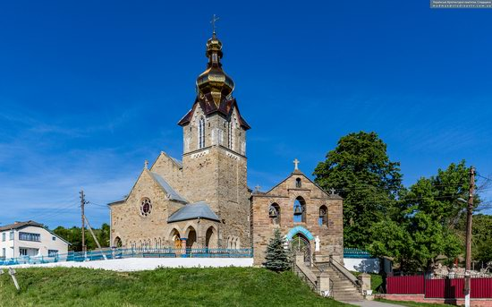 Neo-Gothic Orthodox Church in Pidhaichyky, Ukraine, photo 13