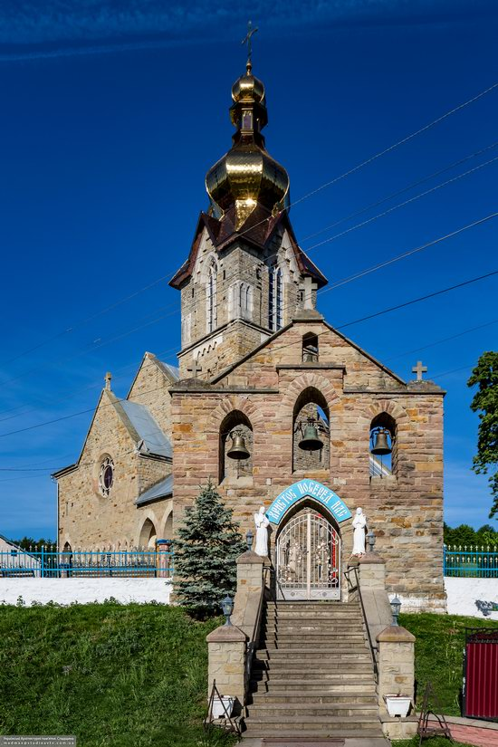 Neo-Gothic Orthodox Church in Pidhaichyky, Ukraine, photo 3