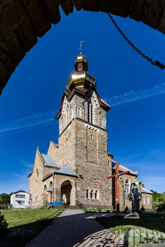 Neo-Gothic Orthodox Church in Pidhaichyky, Ukraine, photo 4