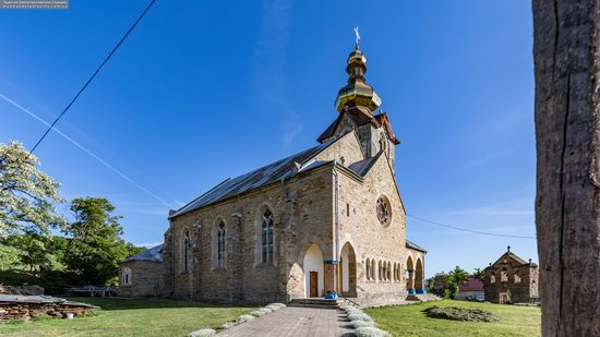 Neo-Gothic Orthodox Church in Pidhaichyky, Ukraine, photo 8