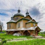 Wooden Church of St. Basil in Cherche