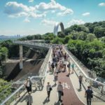 New Pedestrian and Bicycle Bridge in Kyiv