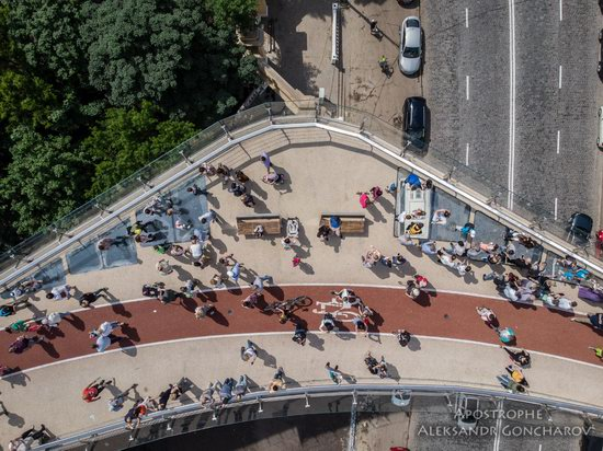New Pedestrian and Bicycle Bridge in Kyiv, Ukraine, photo 12