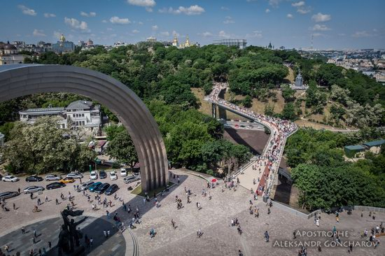 New Pedestrian and Bicycle Bridge in Kyiv, Ukraine, photo 13