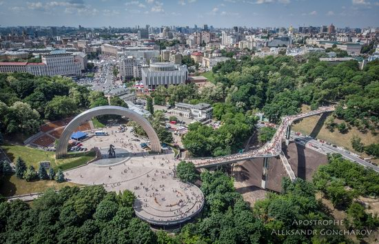 New Pedestrian and Bicycle Bridge in Kyiv, Ukraine, photo 14