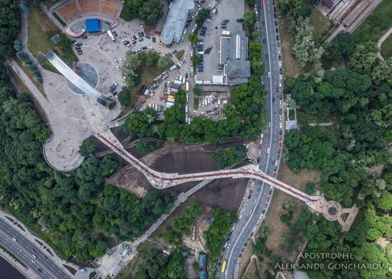 New Pedestrian and Bicycle Bridge in Kyiv, Ukraine, photo 15