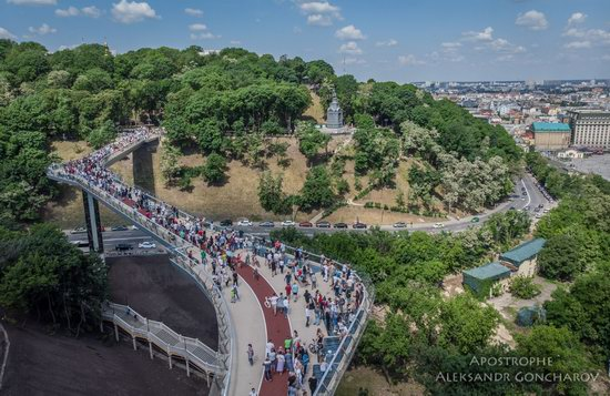 New Pedestrian and Bicycle Bridge in Kyiv, Ukraine, photo 2
