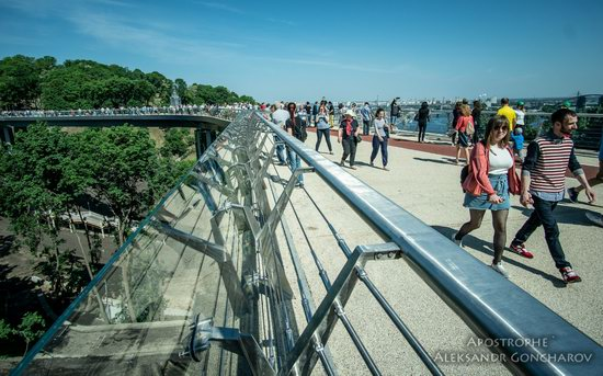 New Pedestrian and Bicycle Bridge in Kyiv, Ukraine, photo 3