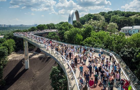 New Pedestrian and Bicycle Bridge in Kyiv, Ukraine, photo 7