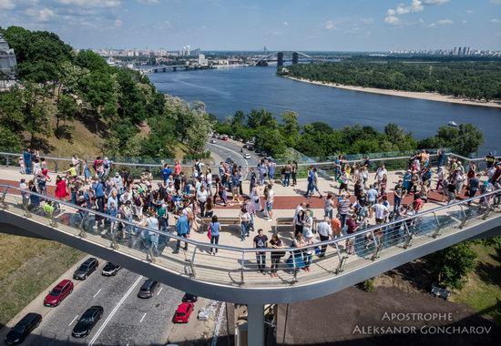 New Pedestrian and Bicycle Bridge in Kyiv, Ukraine, photo 8