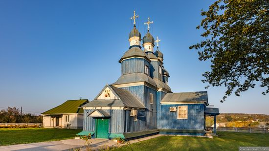 Church of St. Nicholas in Borysivka, Vinnytsia Oblast, Ukraine, photo 2