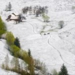 Unpredictable spring weather of the Carpathians