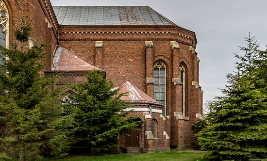 Neo-Gothic Catholic Church in Kamianka-Buzka, Ukraine, photo 6