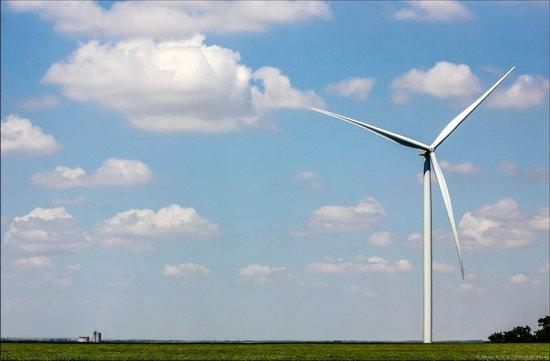 Wind Farm in Prymorsk in Southern Ukraine, photo 1