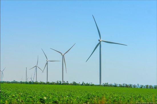 Wind Farm in Prymorsk in Southern Ukraine, photo 10