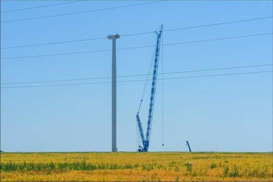Wind Farm in Prymorsk in Southern Ukraine, photo 11