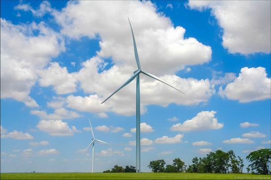 Wind Farm in Prymorsk in Southern Ukraine, photo 12