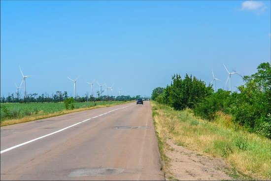 Wind Farm in Prymorsk in Southern Ukraine, photo 2