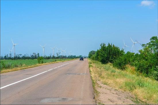 Wind Farm in Prymorsk in Southern Ukraine, photo 2