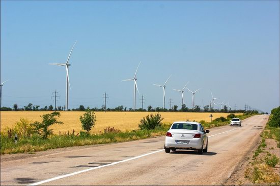 Wind Farm in Prymorsk in Southern Ukraine, photo 3